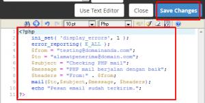 Kirim Email dengan PHP